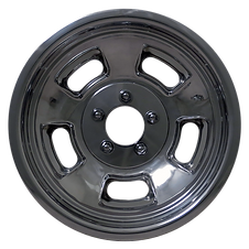 "Squeeg's Kustoms Hot Rod Connection Sprint 15"" x 8"" Wheel. Polished."