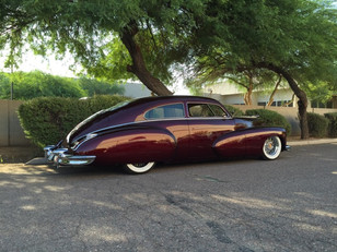 Rick Gold's '47 Caddy