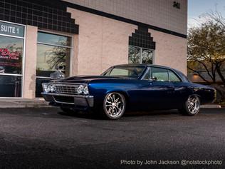 E.C. Brookover's '67 Chevelle Front Quar