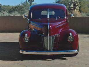 Charlie Ogden's '40 Ford Delivery