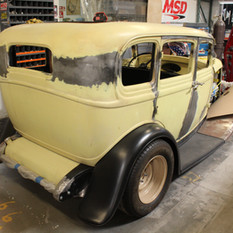 Squeeg's Kustoms In The Shop