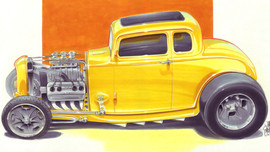 Jimmy Smith 32 Ford 5 Window Coupe