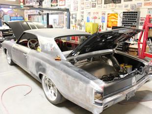 E.C. Brookover's '67 Chevelle Fabricatio