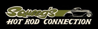 Squeeg's Hot od Cnnction Olive 36 Ford 3-Window Coupe Logo