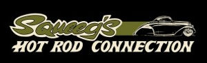 Squeeg's Hot Rod Connection Olive 36 Ford 3 Window Logo