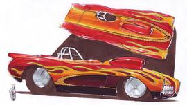 Jimmy Smith Corvette
