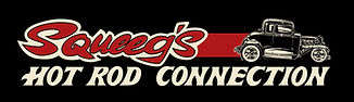 Squeeg's Hot Rod Connection Red 32 Ford 5-Window Coupe Logo