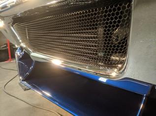 E.C. Brookover's '67 Chevelle Front Vala