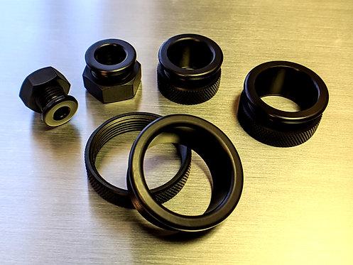 Black Anodized Aluminum Grommets