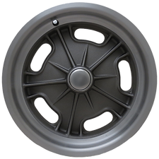 """Squeeg's Kustoms Hot Rod Connection Starburst Spindle Mount 15"""" x 4.5"""" wheel for '37-'48 Ford Spindles. Cast with Machined Lip."""