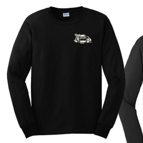 Long Sleeve 32 5-Window Coupe Black T-Shirt