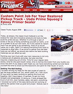 Squeeg's Kustoms Epoxy Primer Filler Kit Classic Truck Tech Article Page 1