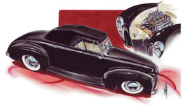 Jimmy Smith 40 Mercury Convertible