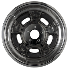 """Squeeg's Kustoms Hot Rod Connection Sprint 15"""" x 12"""" Wheel. Polshed."""