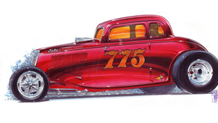 Jimmy Smith Mooneyham Sharp 34 Ford Coupe