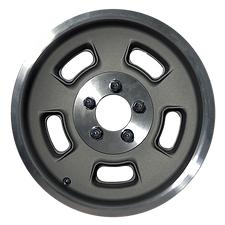 """Squeeg's Kustoms Hot Rod Connection Sprint 15"""" x 4.5"""" Wheel. Cast with a Machined Lip."""