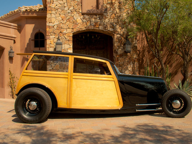 Jason Wolfswinkel's '33 Ford Woodie (74)