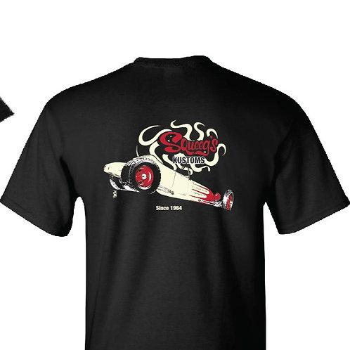 Track T Black T-Shirt
