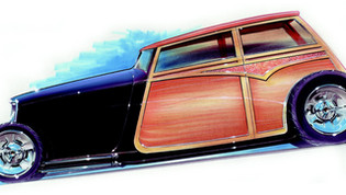 Jimmy Smith 33 Ford Woodie