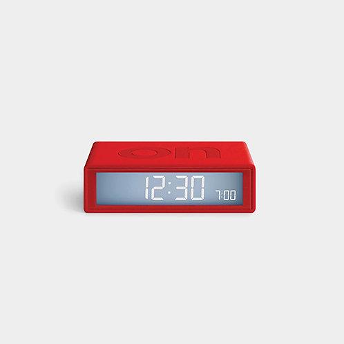Reloj de viaje  Flip Plus - rojo