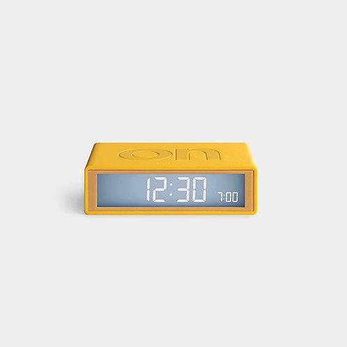Reloj de viaje Amarillo Flip Plus