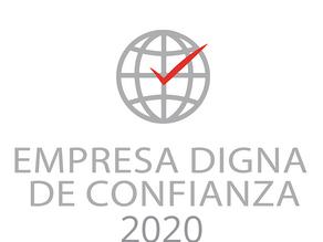 """Toplove """"Empresa Digna de Confianza 2020"""""""