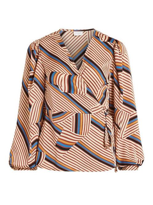 Blusa estampado multicolor