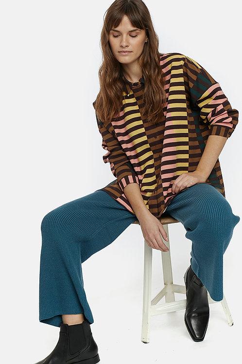 Camisa rayas multicolor