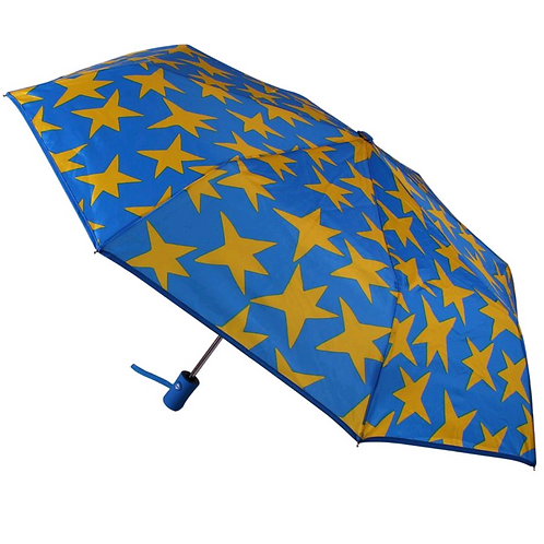 Paraguas plegable estrellas