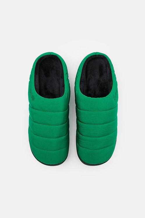 SUBU zuecos de invierno - verde - UNISEX
