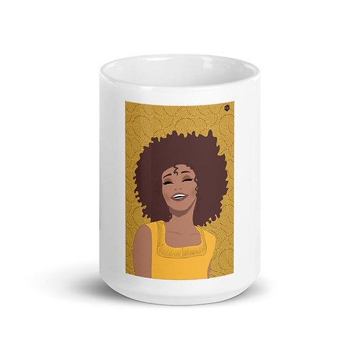 Taza cerámica EV Toplove amarilla