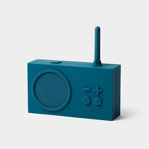 Tykho 3 Radio y altavoz Bluetooth -  azul pato
