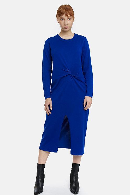 Vestido de punto azulon