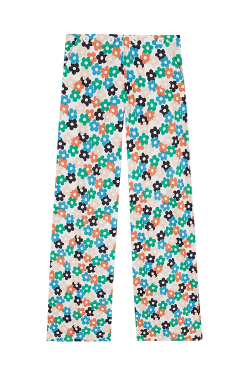 Pantalón margaritas multicolor
