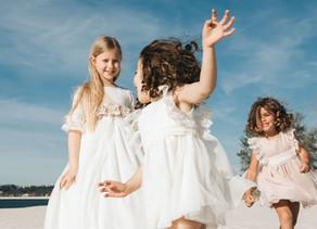 ¿Cómo vestir a los niños y bebés para una boda?