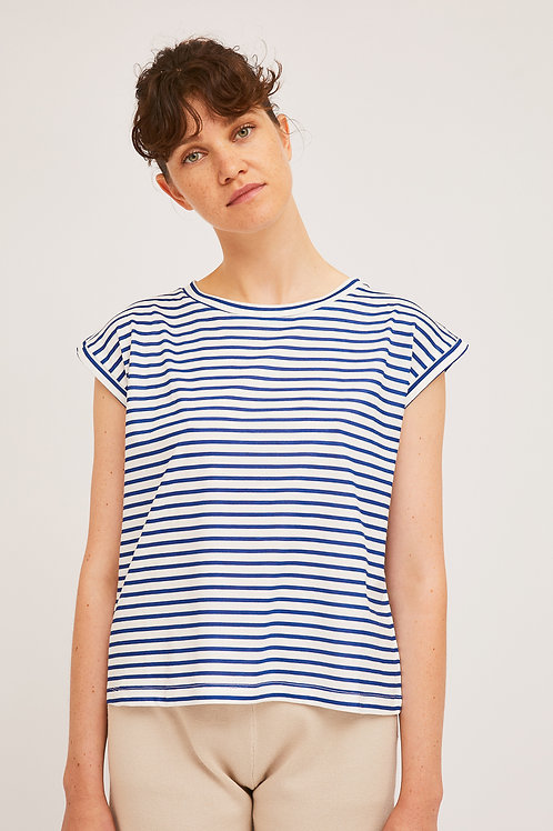 Camiseta navy rayas CF