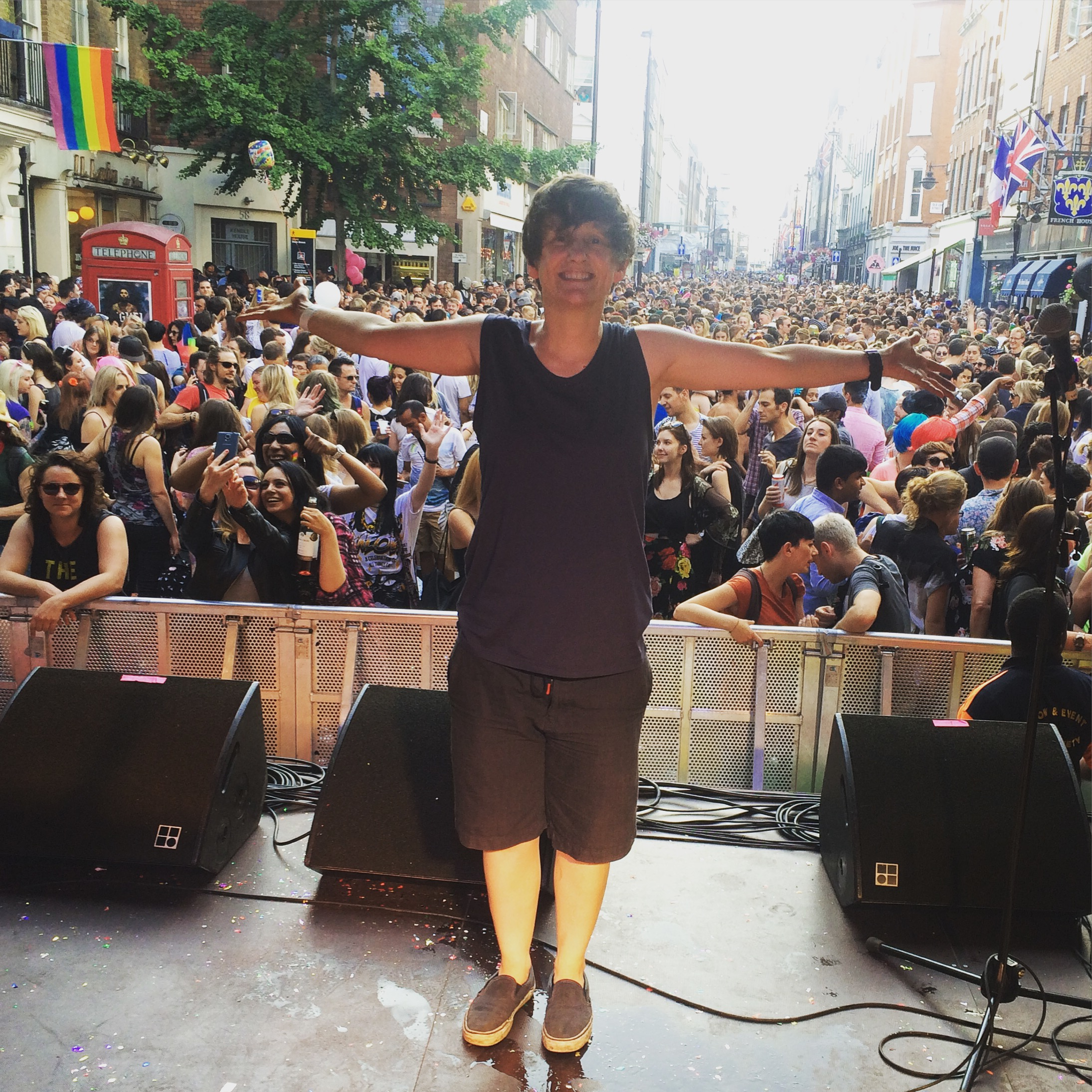 London Pride 2015, Women's Stage