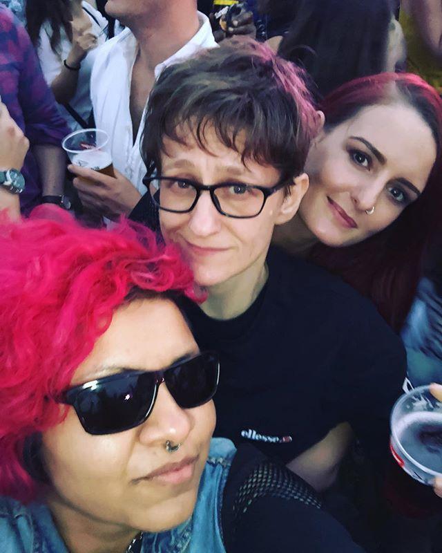 Festival snaps with _aszrazaq _jadesuzannecreighton _emilybarker180