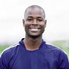 Confident Soccer Coach