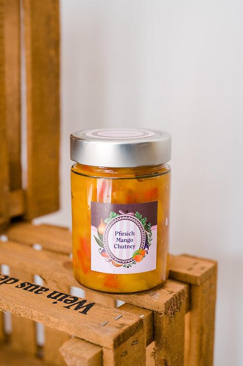 Pfirsich-Mango-Chutney
