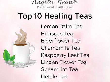 Top 10 Healing Teas