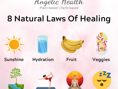 8 Natural Laws of Healing