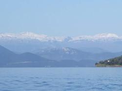 sailing from Milina