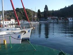Sailing in Milina