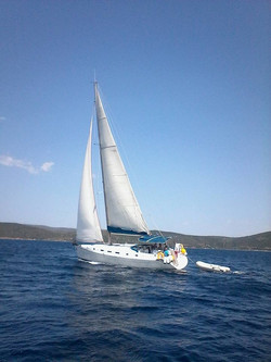 Sailing the Greek waters