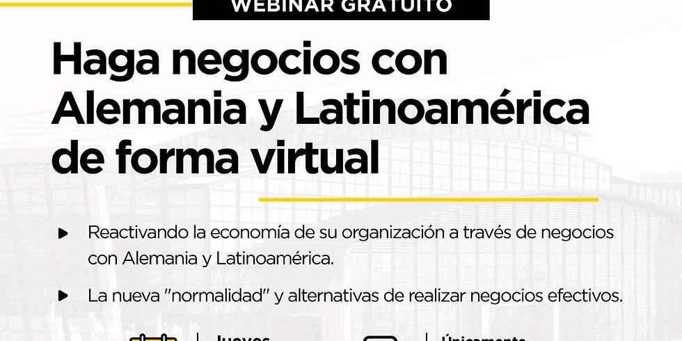 Haga negocios con Alemania y Latinoamérica de forma virtual