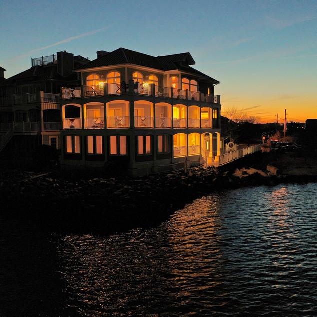 Real Estate, sunset