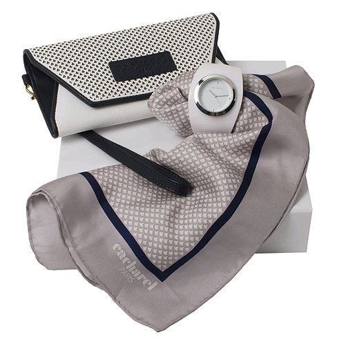 Kit lenço, bolsa e relógio - CACHAREL