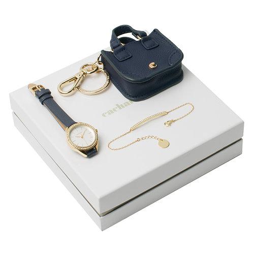 Kit pulseira, chaveiro e relógio - CACHAREL