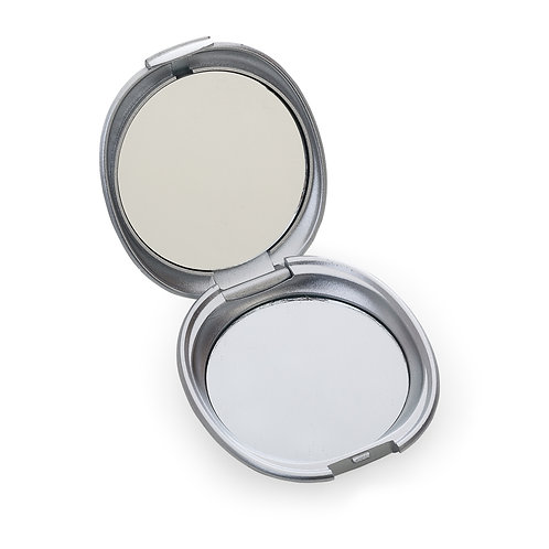Espelho Plástico Duplo Sem Aumento